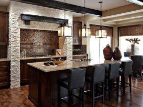 luksusowe czarne szafki kuchenne zaprojektowane na wymiar