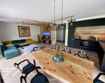 highlander house z luksusowymi meblami kuchennymi na wymiar