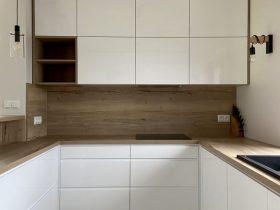 symetryczne meble kuchenne na wymiar Bielsko-Biała